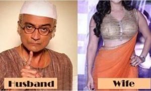 'तारक मेहता का उल्टा चश्मा' के चंपक चाचा रियल मे दिखते है बिलकुल अलग,बीवी हैं बेहद ग्लैमरस