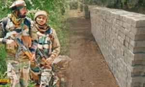 बिहार में सेना का रास्ता रोकने के लिए सड़क पर खड़ा किया दीवार, जानिए पूरा मामला